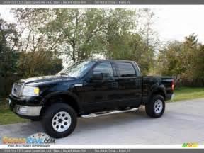 2004 Ford F150 4x4 2004 Ford F150 Lariat Supercrew 4x4 Black Black Medium