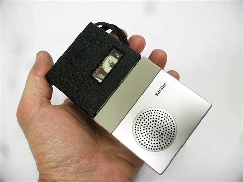 micro cassette player early philips micro cassette player recorder lfh 0085 15