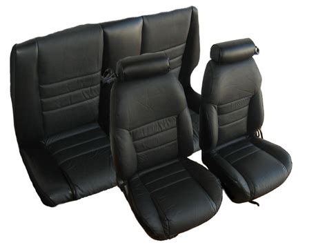 Seat Upholstery Kits by 1997 1998 Ford Mustang Gt Convertible Front Rear With Small Headrest Seat Upholstery Kit U652