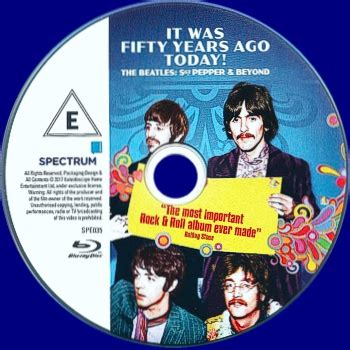 it was 50 years ago today and how i followed four days of dvd the beatles it was fifty years ago today bluray dvd