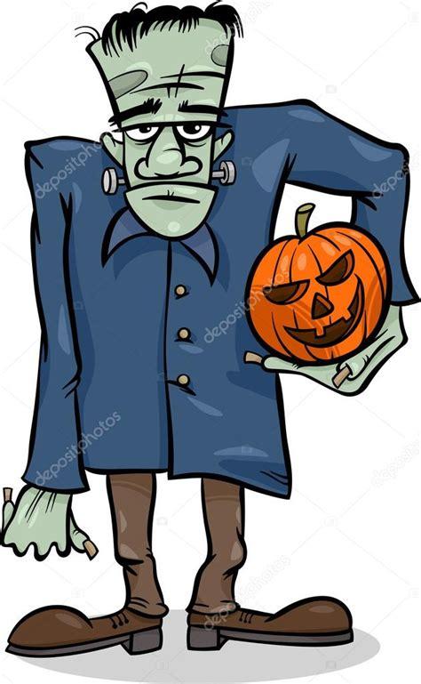 imagenes de halloween zombis ilustraci 243 n de dibujos animados halloween frankenstein