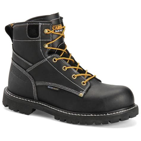 s carolina 174 6 quot waterproof work boots 294567 work
