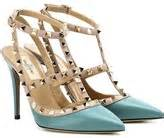 Flatshoes High Heels Valentino Rockstud Suede Mirorr Quality turquoise shoes shopstyle uk