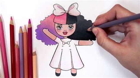 01 dollhouse m4a como desenhar bonequinha melanie martinez dollhouse