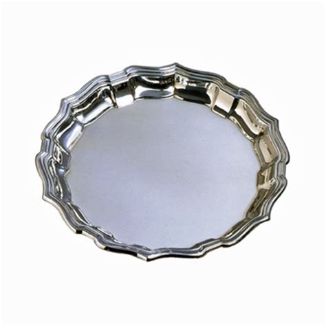 chippendale tray 12 quot pewter for the home pewter products and trays