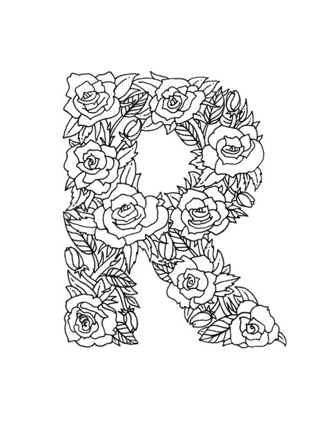 coloring pages for adults letter t download free coloring pages boelter design co