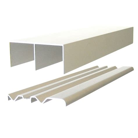 Sliding Door Tracks For Wardrobes by Multistore 1200mm Wardrobe Sliding Door Track Bunnings