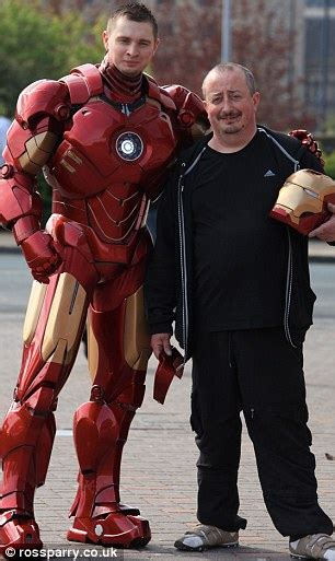 iron man mark pearson builds amazing replica suit