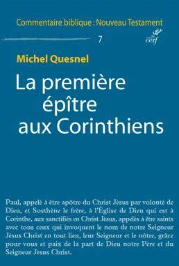 La Premi 232 Re 233 P 238 Tre Aux Corinthiens De Michel Quesnel Les