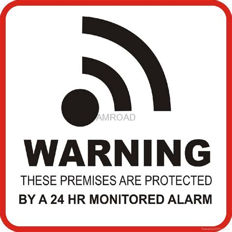 image gallery alarm stickers