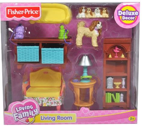 loving family living room dollhouse furniture discount fisher price year loving family on family rooms dens images on