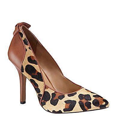 jessica simpson jaide  leopard print pumps dillardscom