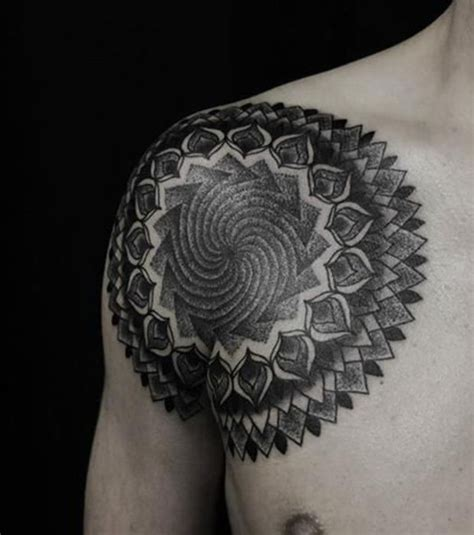 tattoo mandala hombro tatuajes de mandalas para mujer y hombre y que significan
