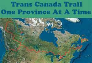 trans canada trail one province at a time
