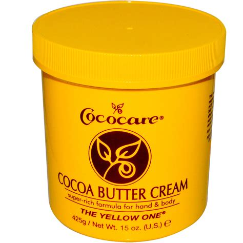 Creme Cocoa Butter cococare the yellow one cocoa butter 15 oz 425 g