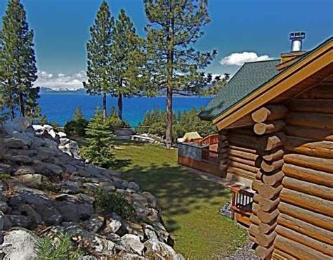 Log Cabin Lake Tahoe by Luxurious Log Cabin Lodge Overlooking Homeaway