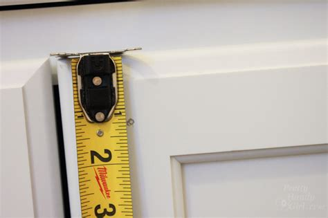 how to measure cabinet pulls how to install knobs on new cabinet doors and drawers