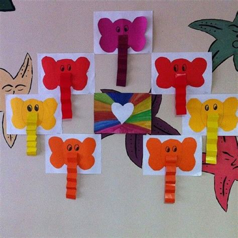 kindergarten craft 25 best ideas about preschool elephant crafts on