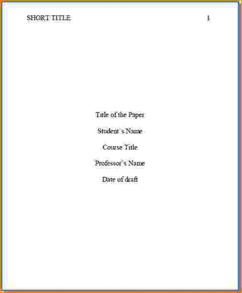 apa style title page template 8 how to do a title page in apa bibliography format