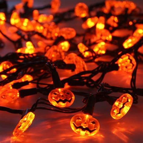 halloween pumpkin string lights 15 led halloween pumpkin string light