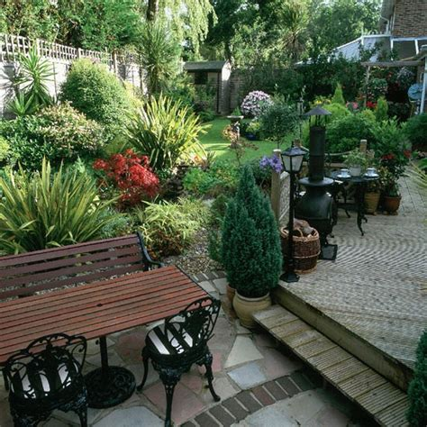 Sloping Garden Design Ideas Uk Patio And Decked Terrace Housetohome Co Uk