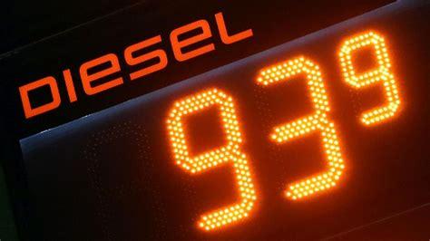 Benzinpreise Billig Tanken Mit Tanken T Online De by Benzinpreise Dieselpreis F 228 Llt Teils Unter 95 Cent