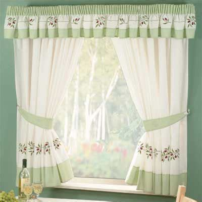 17 best ideas about green kitchen curtains on pinterest