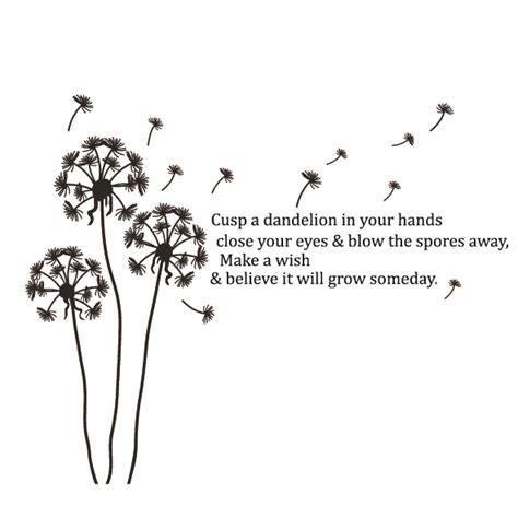 dandelion tattoo quotes tumblr black bird drawing quotes