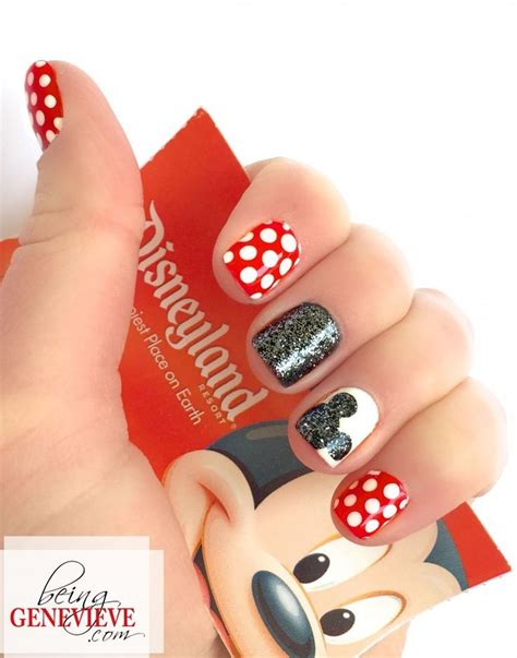 cute simple tuxedo nail art design by cutepolish the best 25 disney nails ideas on pinterest disneyland