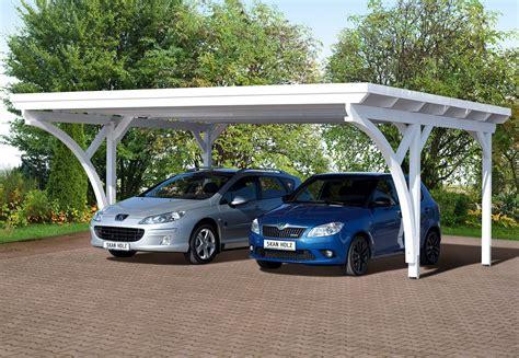 Carport Mit Garage 2990 by Carport 2 Voitures Avec Abri