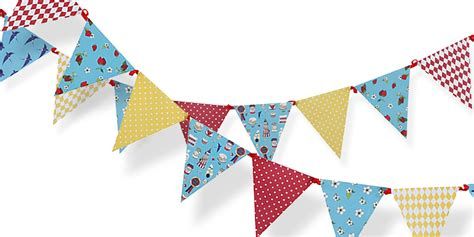 Home Decorating Party by Village Fete Summer Bunting 3m Village Fete Party Ideas