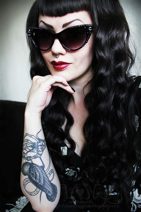 old goth bangs hairstyle 383 best images about hair on pinterest dreads