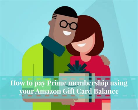 Use Amazon Gift Card For Prime Membership - how to pay prime membership using your amazon gift card balance lia belle