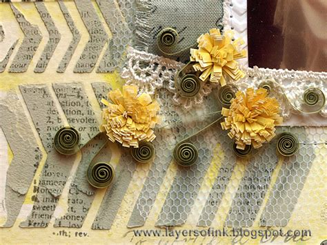 layout ink definition layers of ink together quilling layout