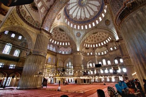 Mosque Interior 17 of the most beautiful places in istanbul turkey