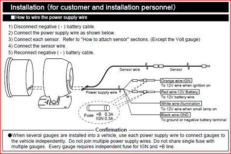 Defi Adv Bf Volt Oh0w defi meter wiring diagram 25 wiring diagram images