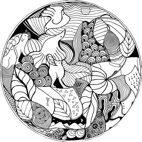 ocean mandala coloring pages 79 best ocean mandalas images on pinterest