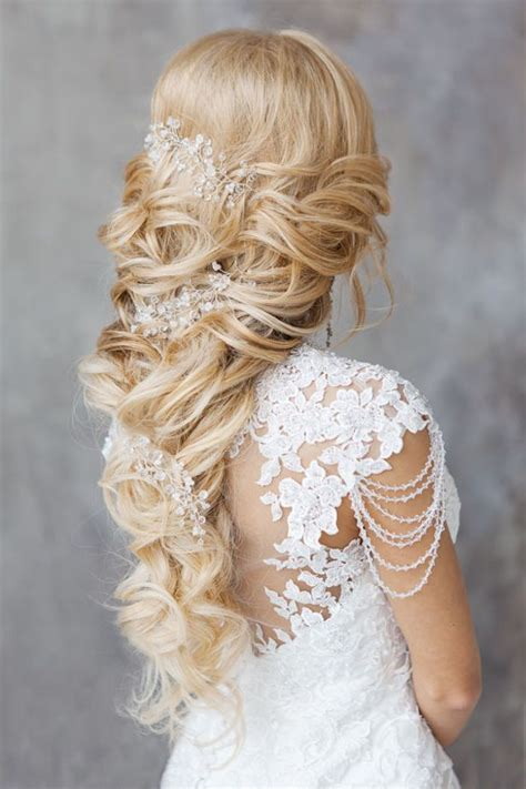 country hairstyles for long hair 34 romantic country wedding hairstyles ideas magment