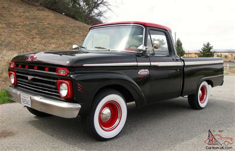 ford truck bed 1965 ford f100 custom cab short bed pickup truck