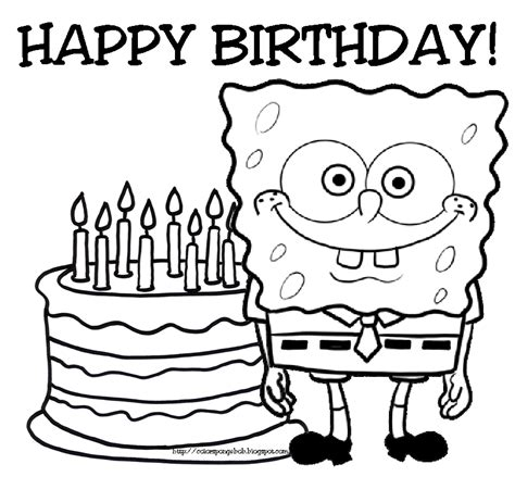 happy birthday coloring pages happy birthday coloring pages clipart panda free