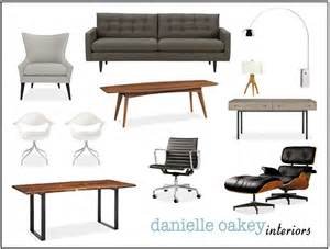 mid century modern office furniture mid century modern office home decor