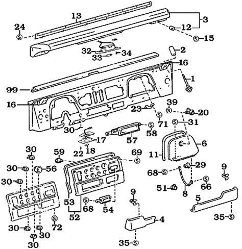 toyota fj40 parts diagram car repair manuals and wiring