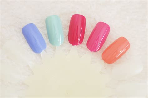 Bright Picks For Summer by Simplysteadman Summer Nail Picks