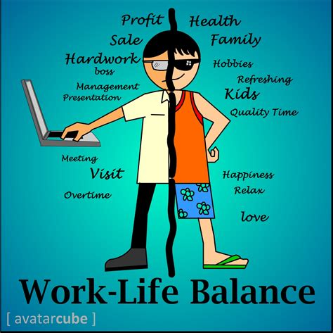 work life balance is extending your working time means your hardworking if
