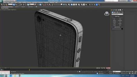 tutorial iphone 4s in 3d studio max part 4 1 texturing and rendering