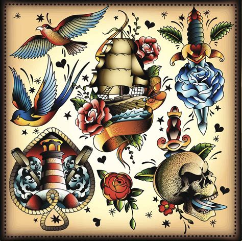 tattoo old school paris tatuaggio old school significato e idee per le donne