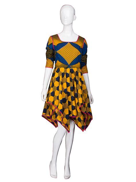 short gown image for daviva daviva ankara rachael edwards