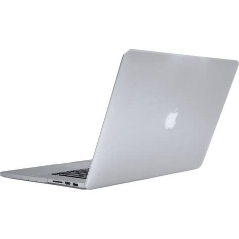 macbook pro case incase designs corp hardshell case for macbook pro cl60610 b h