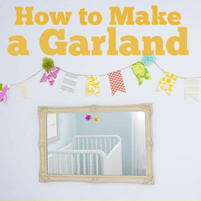 How To Make Paper Pom Pom Garland - fabric bunting how to diy with other garland ideas pom