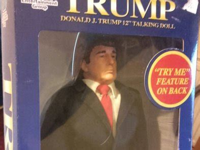 commercial with donald trump doll donald j talking doll for sale in trim meath from